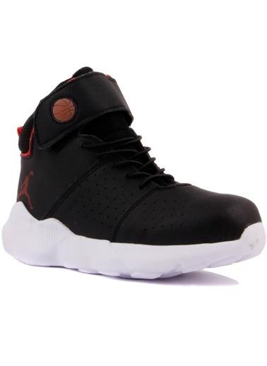 Cool 19-K31 Erkek Çocuk Siyah Basketbol Spor Ayakkabı Siyah
